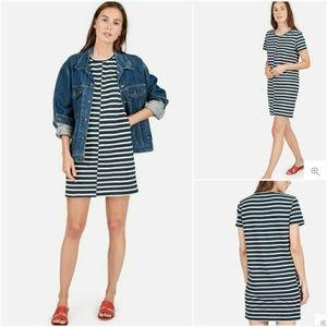 * No Offers* Everlane The Beach Tee Striped Dress